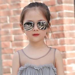 Boys and Girls Hot Fashion, Classic Retro, Alloy Sunglasses