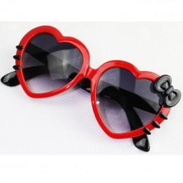 Cartoon Cute Heart, Bow Cat, Sunglasses for boys and girls