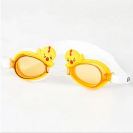 Kids Cartoon Animals Anti Fog UV Protection Swimming Goggles