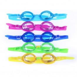 Cartoon Kids Children Silicone Waterproof Swim Pool Water Swimming Goggles Glasses Eyewear Eyeglasses Accessories for Boys Girls