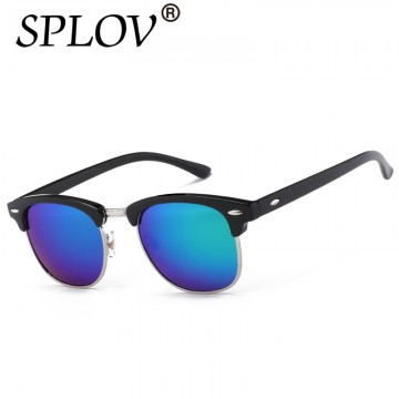Half Metal High Quality Sunglasses Men Women Brand Designer Glasses Mirror Sun Glasses Fashion Gafas Oculos De Sol UV400 Classic32562009747