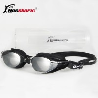 Queshark Quality Men's Women's Adult Swimming Frame Pool Sport Eyeglasses Waterproof Spectacles Male Female Swim Goggles Glasses