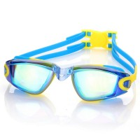 UV Protection Waterproof Kids Swim Goggles Anti-fog Lights Lens Silicone Frame Child Swimming Goggles Pool Accessories Glasses