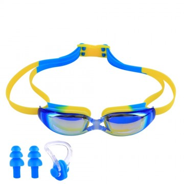 UV Protection Waterproof Kids Swim Goggles Anti-fog Lights Lens Silicone Frame Child Swimming Goggles Pool Accessories Glasses32798753168